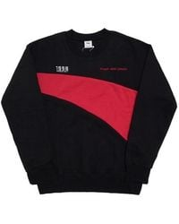 FRESH ANTI YOUTH - Wave-crewneck Sweater Black - Lyst