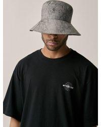 OVERR - [unisex] Water Washing Gray Bucket Hat - Lyst