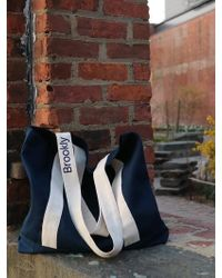 W Concept - Basic Bag_navy - Lyst