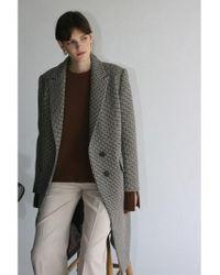 ec71ff78dcf9 Lyst - Fendi Double-face Wool   Fox Fur Pocket Cape in Green