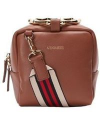 W Concept - Bamboo Cube Bag Brown - Lyst