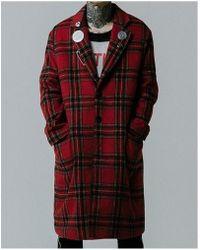 VLADVLADES - [unisex]red Wool Coat 02 - Lyst