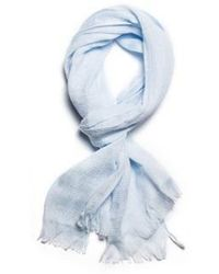 W Concept - Towel Muffler 70 Season _ Baby Blue - Lyst