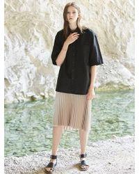 VOIEBIT - V400 Cutting Shirts_black - Lyst