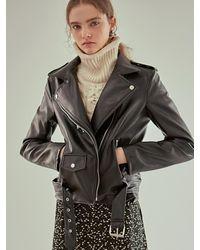 YAN13 - Loose Rider Jacket Black - Lyst