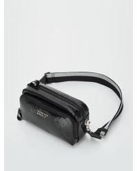 W Concept - Panini Mix Pattern Press Bag Black - Lyst