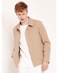 W Concept - Beige Cotton Coach Jacket - Lyst