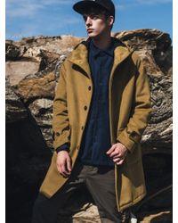 F.ILLUMINATE - Unisex Duffle Hood Coat-olive - Lyst