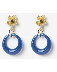 VON DITOLE - Blue Hole Retro Flower Vintage Earring - Lyst