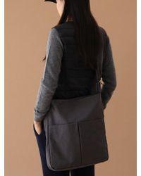 UNDERCONTROL STUDIO - Square Bag - Wrinkle - Npc - Dawn Charcoal - Lyst