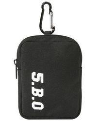 W Concept - [unisex] Mini Key Ring Bag Black - Lyst