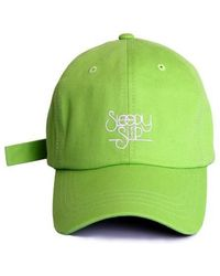 bc7fcc1d5d9 SLEEPYSLIP -  unisex  Signature Green Ball Cap - Lyst