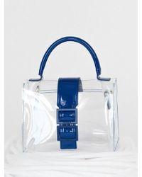 COMME.R - Clear Mini Bag 4 Color - Lyst