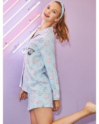 EBLIN - Donuts Pajamas Set - Lyst