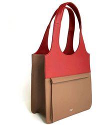 Atelier Park - Line Tote Bag_mini Beige - Lyst