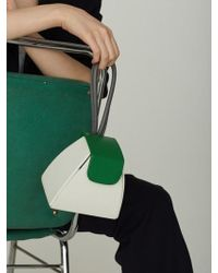 Atelier Park - Color Block Handle Bag(5color)+chain Strap - Lyst