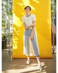 COLLABOTORY - Sheer Dot Mesh Dress - Lyst