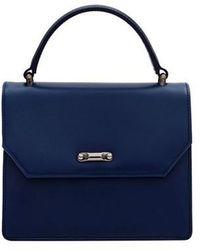 COMME.R - Classic Mini Bag Blue - Lyst