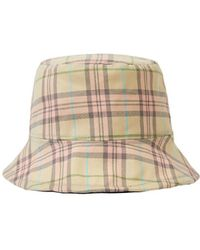 52ea5a139cccbc Awesome Needs - Basic Bucket Hat_check Pink - Lyst