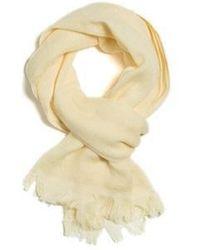 W Concept - Towel Muffler 70 Season _ Light Yellow - Lyst