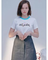 Blank - Candy T-shirt White - Lyst