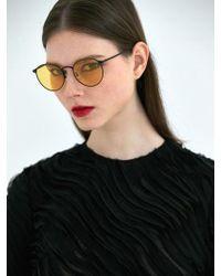 COLLABOTORY - [unisex] Baame9001m Monday Black Matte Yellow Tint - Lyst