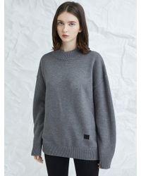 MILLOGREM - Snuggle Sweater Gray - Lyst