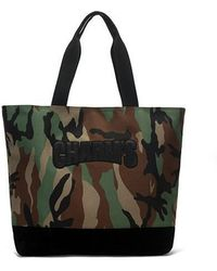 Charm's - Basic Totebag Camo - Lyst