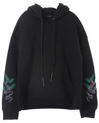 W Concept - Carib Hood T-shirt(black) - Lyst