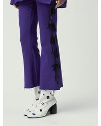 Fleamadonna - Ribbons Knotted Sweat Pants - Lyst