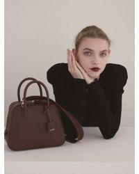 DEMERIEL - City Bag Bordeaux Medium - Lyst