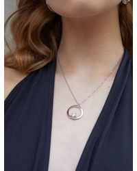 Matias - Round Candy Necklace - Silver - Lyst