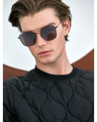 COLLABOTORY - [unisex] Baame9003m Wednesday Black Matte Black Lens - Lyst