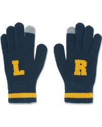 W Concept - [unisex]comic Gloves Navy - Lyst
