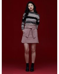Grace Raiment - Corduroy Mini Skirt - Lyst
