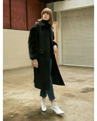 COLLABOTORY - Faux Fur French Chic Coat - Lyst
