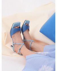 W Concept - Mrc034 X-sandal_midnight Blue - Lyst