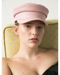 Awesome Needs - [unisex] Classic Marine Cap_leather Pink - Lyst