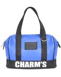 Charm's - Puberty Micro Boston Bag Blue - Lyst