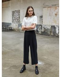 COLLABOTORY - High Waist Cabra Trousers - Lyst