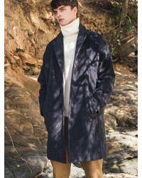 F.ILLUMINATE - [unisex] Oversize Calm Wool Coat Charcoal - Lyst