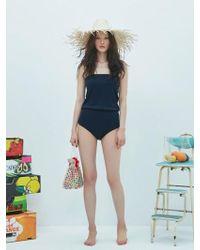 W Concept - Colour Body Suit 5 Colour - Lyst