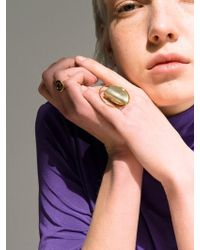 VIOLLINA - Full Moon Ring_gold - Lyst