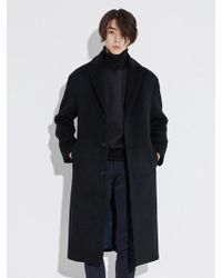 BONNIE&BLANCHE - Minimal Long Coat_black - Lyst