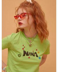 NANA CREW - Nana Symbol T-shirt - Green - Lyst