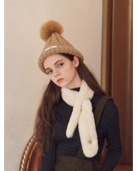 W Concept - Lorient Fake Fur Muffler - Lyst