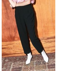 COLLABOTORY - Bacma6007m Soft High Waist Cocoon Trousers - Lyst