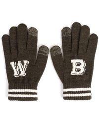 W Concept Wb Touch Gloves _khaki
