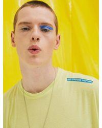 Add - [unisex]syndrome Sleeveless T Shirts Yellow - Lyst