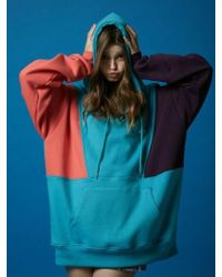 BUBP - [unisex] Bubp Special Over Fit Hoodie_mint - Lyst